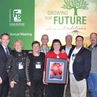 2014 Farm Bureau County of the Year