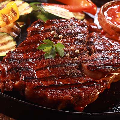 Grilled Marinated Steak